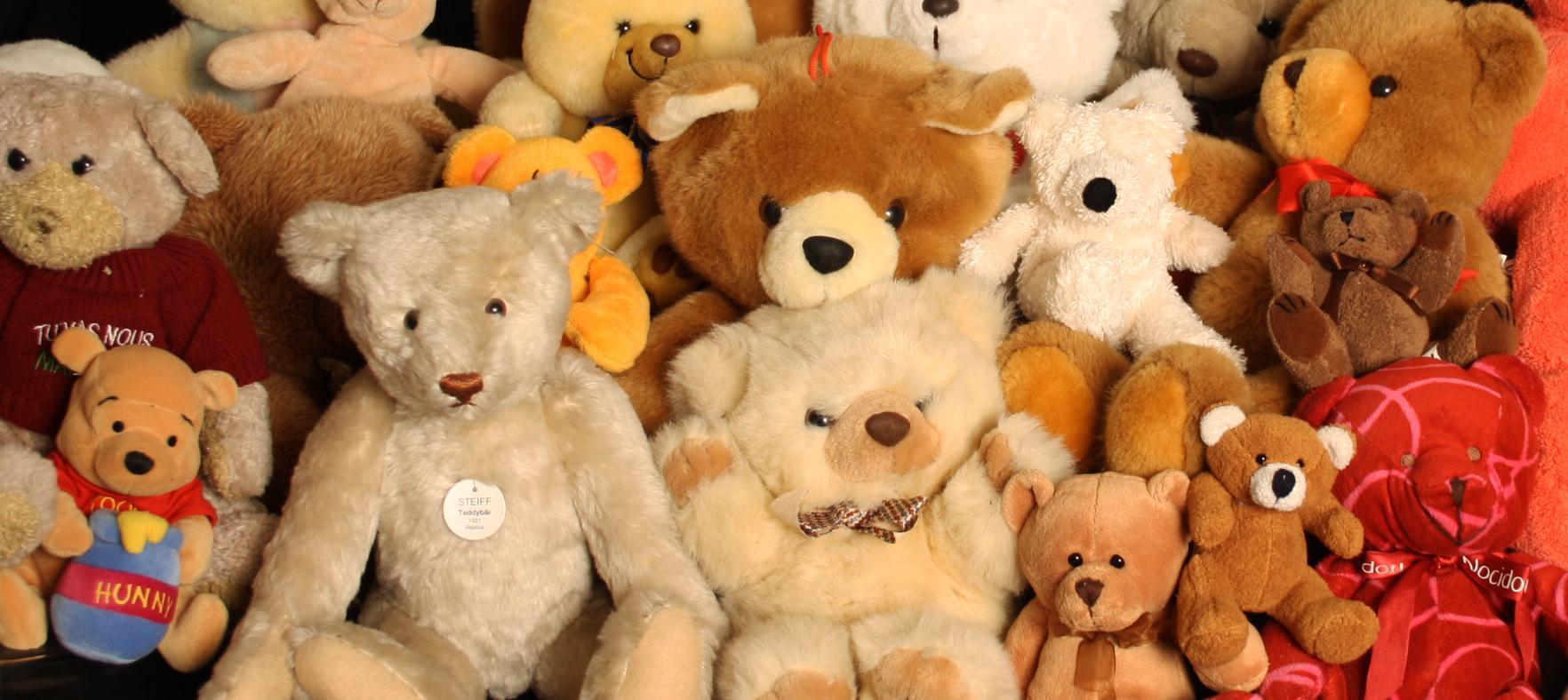 plush toy bear