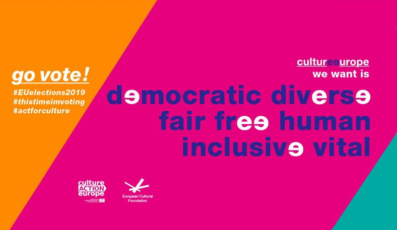 Culture Action Europe - EU election campaign