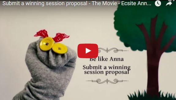 How to submit a winning session proposal - the movie