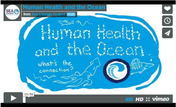 A new video on human health and the ocean
