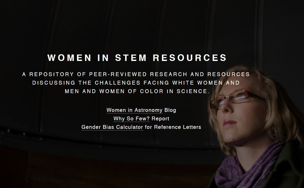 Women in STEM resources