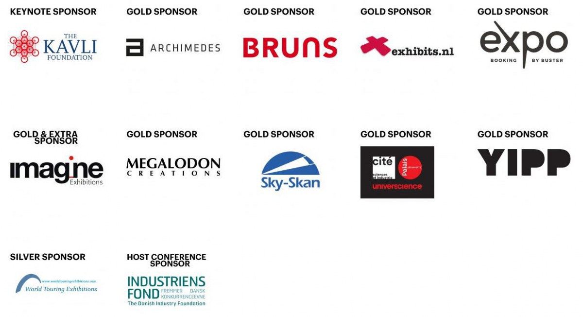 #Ecsite2019 sponsors: thank you!