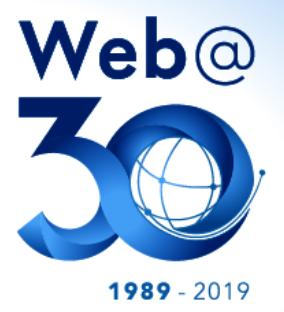 Web@30 event logo