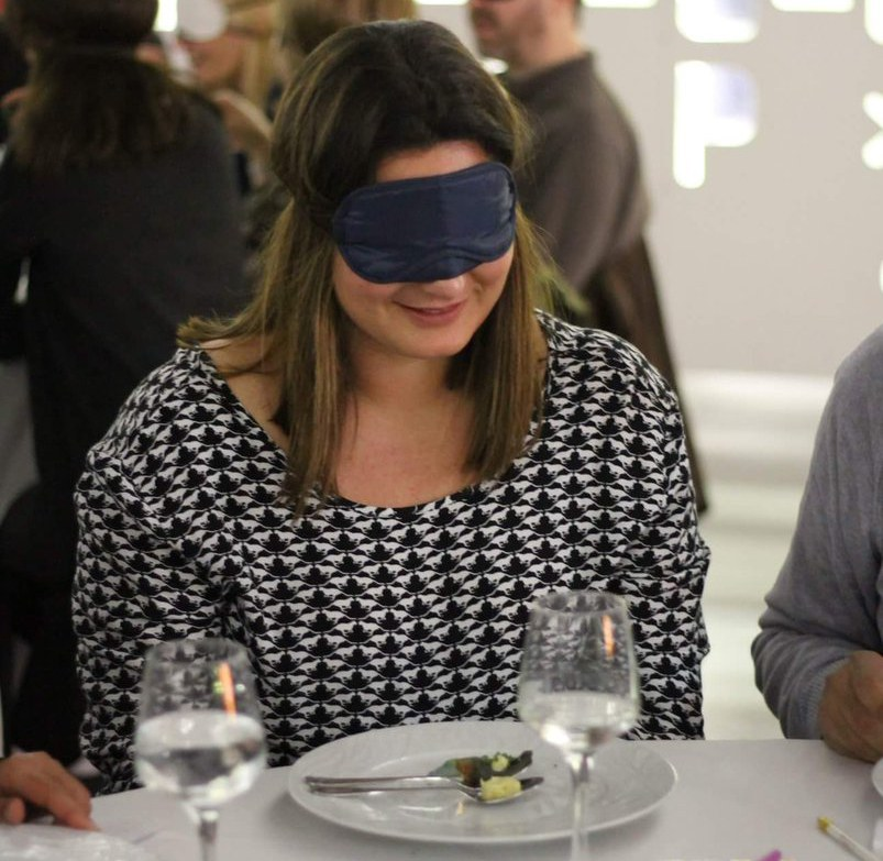 Immersive multisensory food experience as part of the ERC=Science² project at Pavilion of Knowledge - Ciência Viva (Lisbon Portugal), March 2018