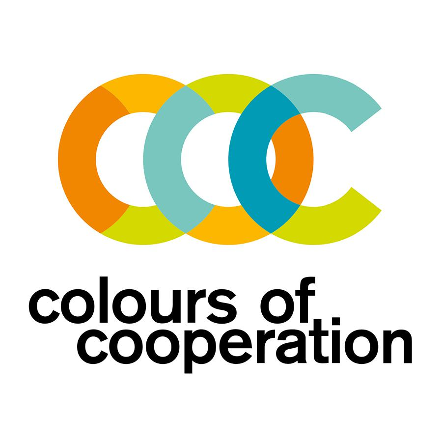 2016 Ecsite Annual Conference logo - Colours of Cooperation