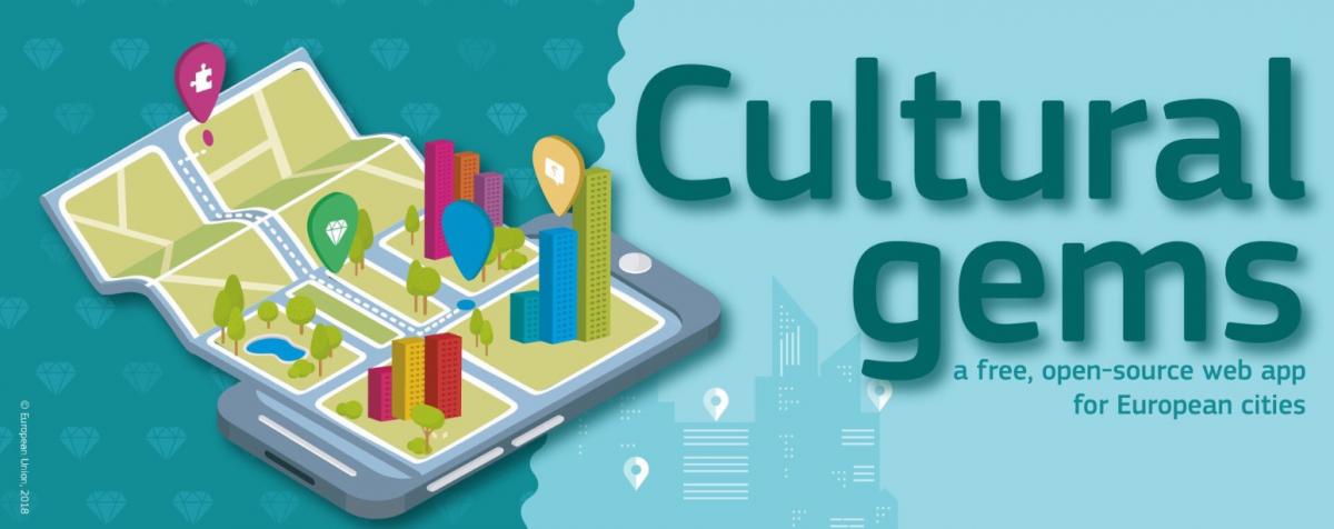 Cultural gems App. Credits: European Union, 2018