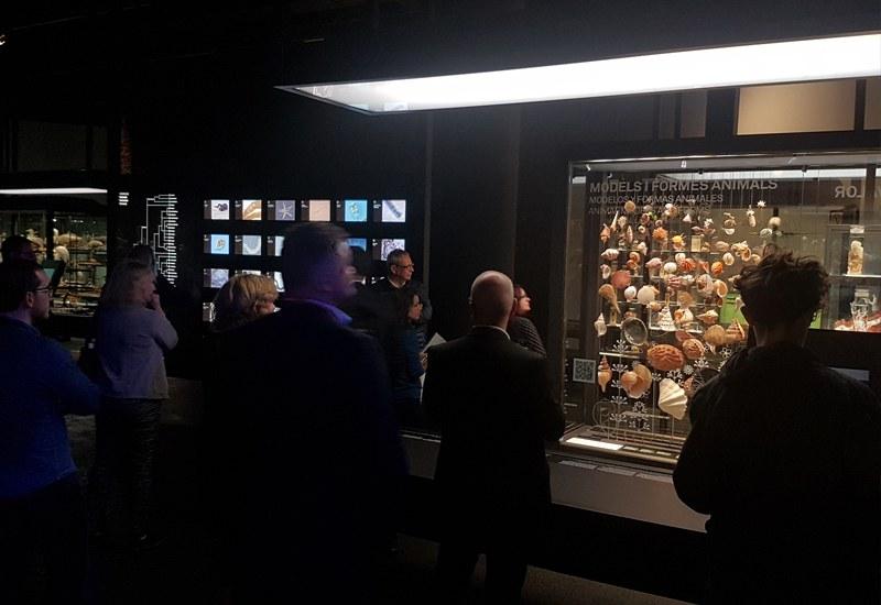 Visit of the Natural Sciences Museum, 2018 Ecsite Directors Forum