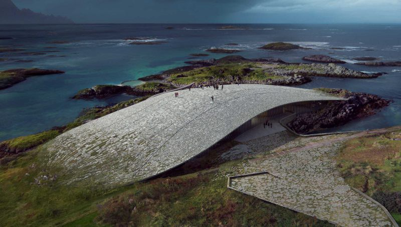 'The Whale', a new Arctic attraction in Andenes, on the island Andøya, Norway will open in 2022
