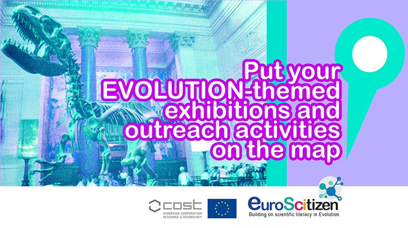 EuroScitizen call for evolution-themed activities