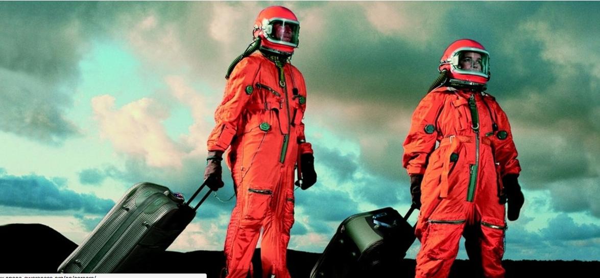 The future of mankind in Space. Credit: Economist.com