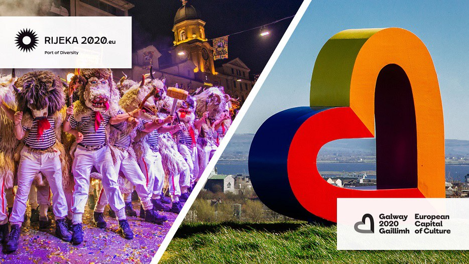 2020 European Capitals of Culture: Galway  (Ireland) and Rijeka (Croatia).