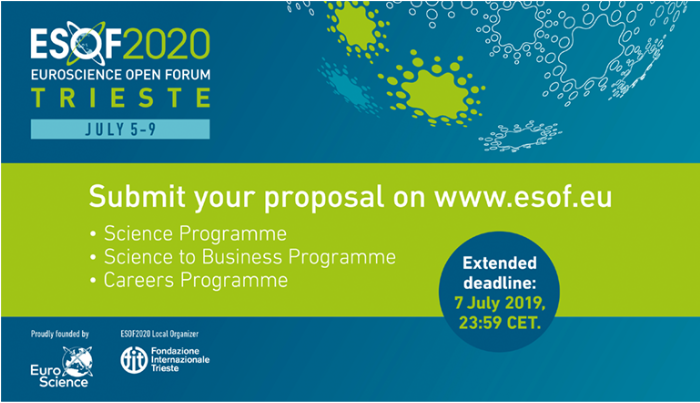 Proposal deadline extended to 7 July
