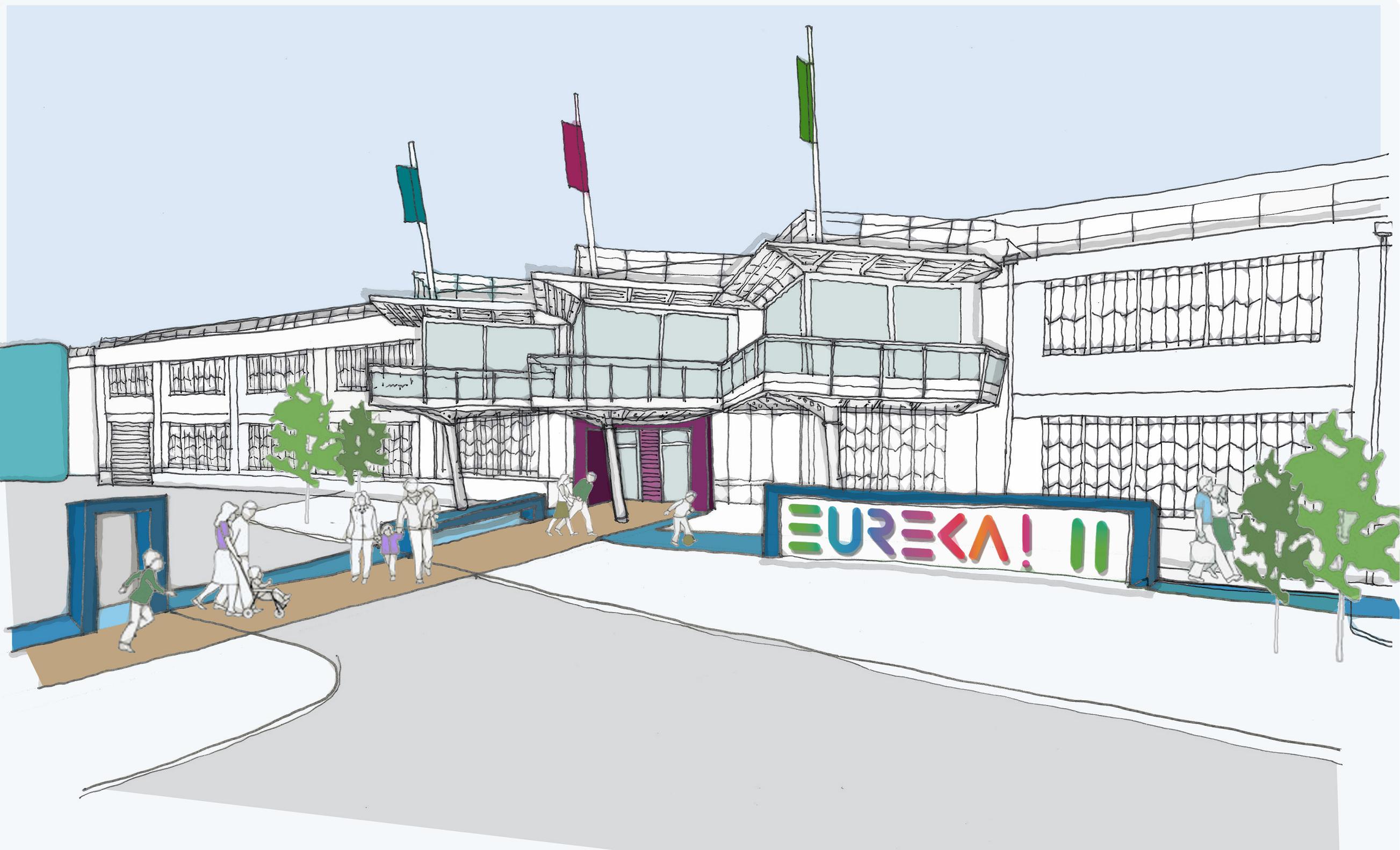 Eureka! Merseyside Concept drawing. Credits: Eureka!