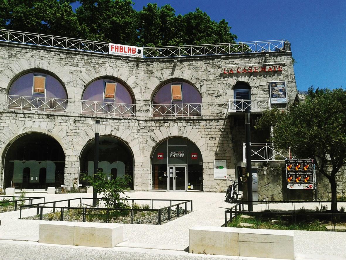 La Casemate, Grenoble, France.