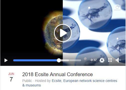 #Ecsite2018 Facebook event