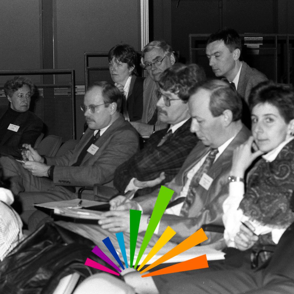 Founding meeting of Ecsite, 9 January 1989