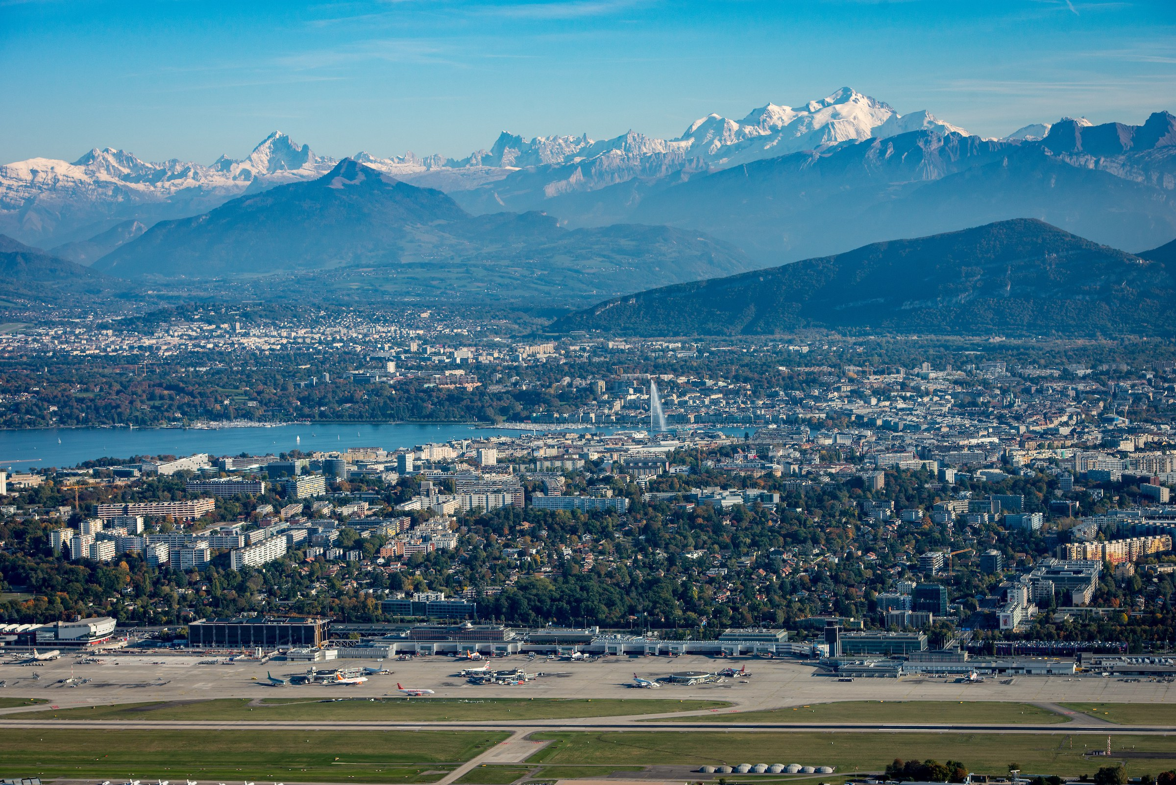 Geneva from the sky (6)©GeneveTourisme