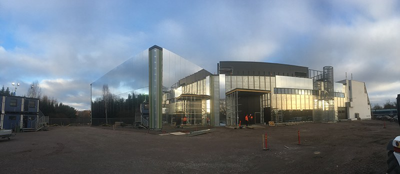 Heureka's extension, January 2017. Photo: Mikko Myllykoski / Heureka