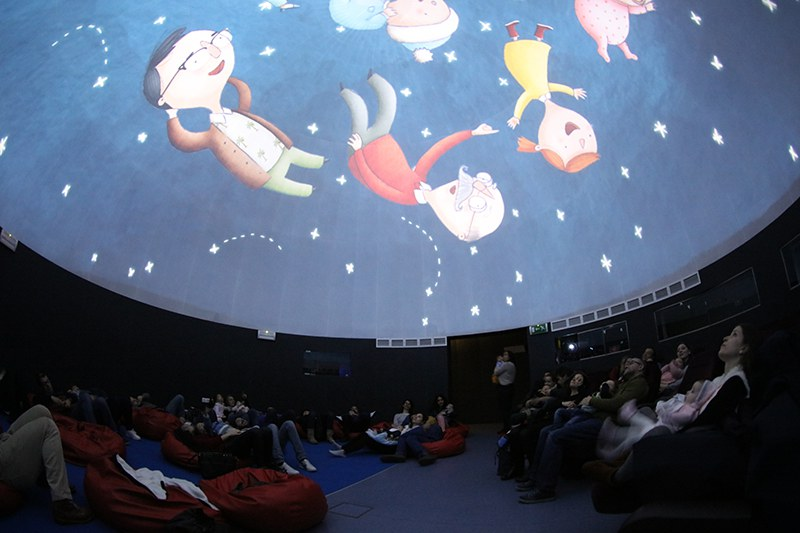 Mariano Gago Ecsite Awards winning project, 2018: Astronomies for Babies session at Exploratório – Ciência Viva Science Centre of Coimbra, Portugal
