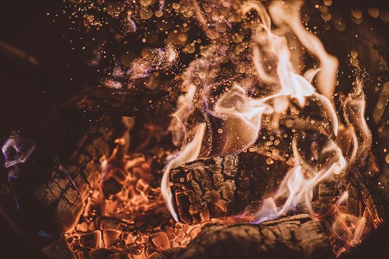 Fire. Photo by Joshua Newton on Unsplash
