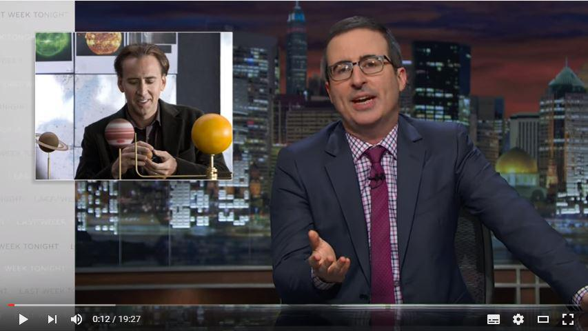 John Oliver's rant on how science is reported in the media