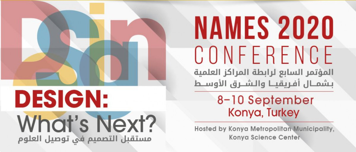 NAMES 2020 Conference, 8-10 September, Konya, Turkey