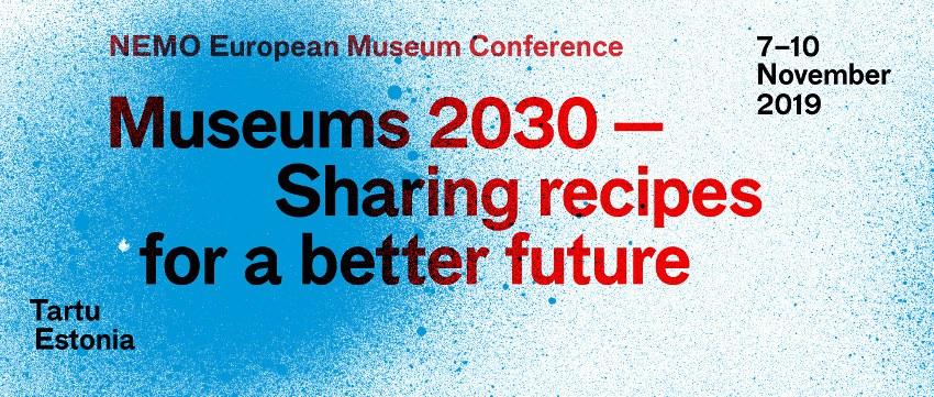 NEMO European Museum Conference 2019 Banner