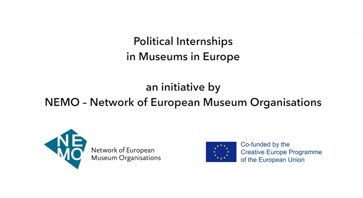 NEMO Political Internship in Museums Video