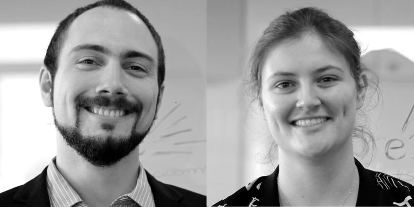 Simon Bourdin & Fanny Trifilieff, spring interns 2019
