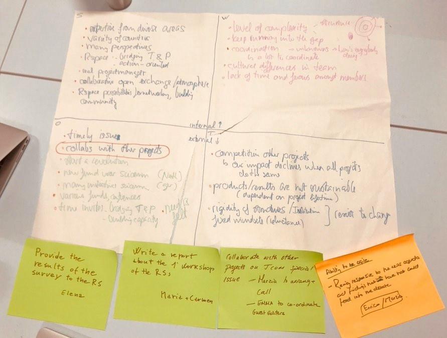 RETHINK is studying sensemaking processes