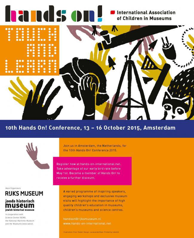 2015 Hands-on! conference, Amsterdam, 13-16 October
