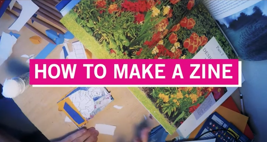 Copyright: Science Gallery Dublin, How to make a zine
