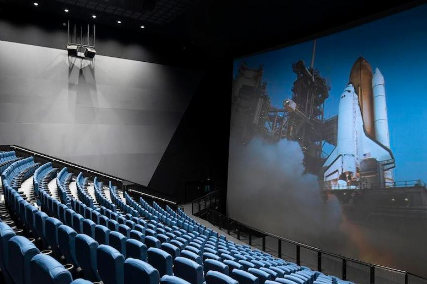 Science Museum Group's refurbished Imax theatre. Credit: Science Museum Group