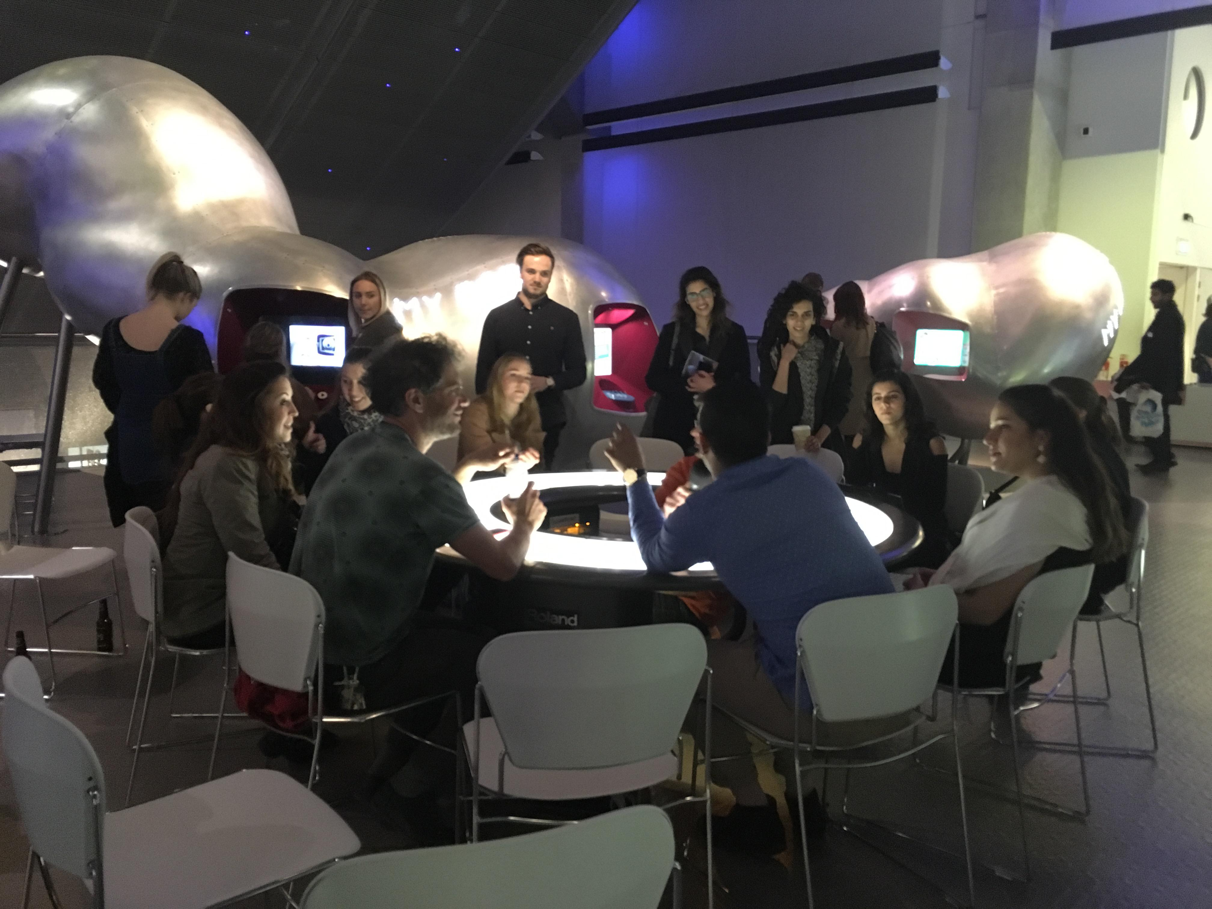 Reversed Science Café at the Science Museum, London, UK - Sparks project