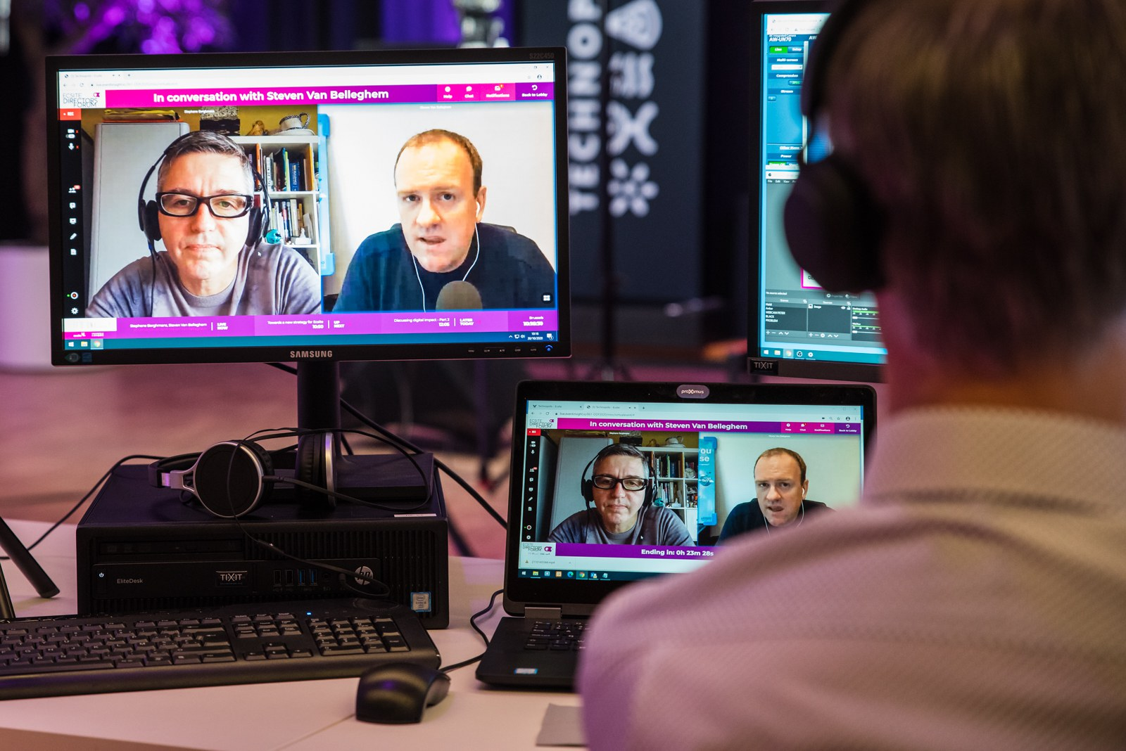 The 2020 Ecsite Directors Forum, October 2020, was online. Hosted by Technopolis, the Flemish Science Centre in Mechelen, Belgium