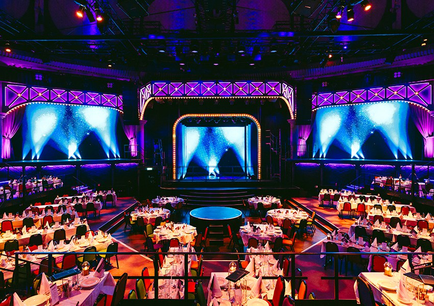 #Ecsite2019's Gala Dinner will be held under the impressive dome of the Circus Hall