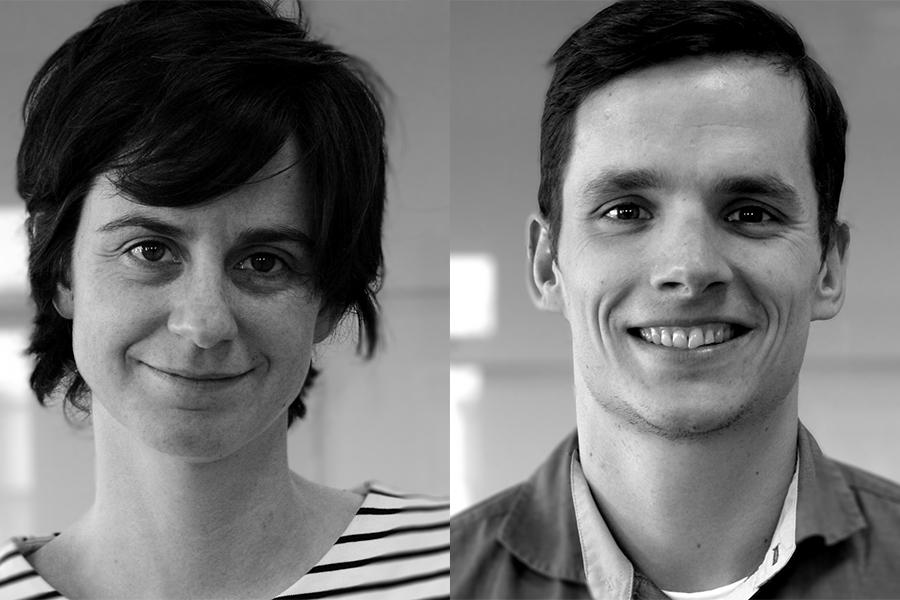 Carmen and Tomas are the new PMs at the Ecsite Office