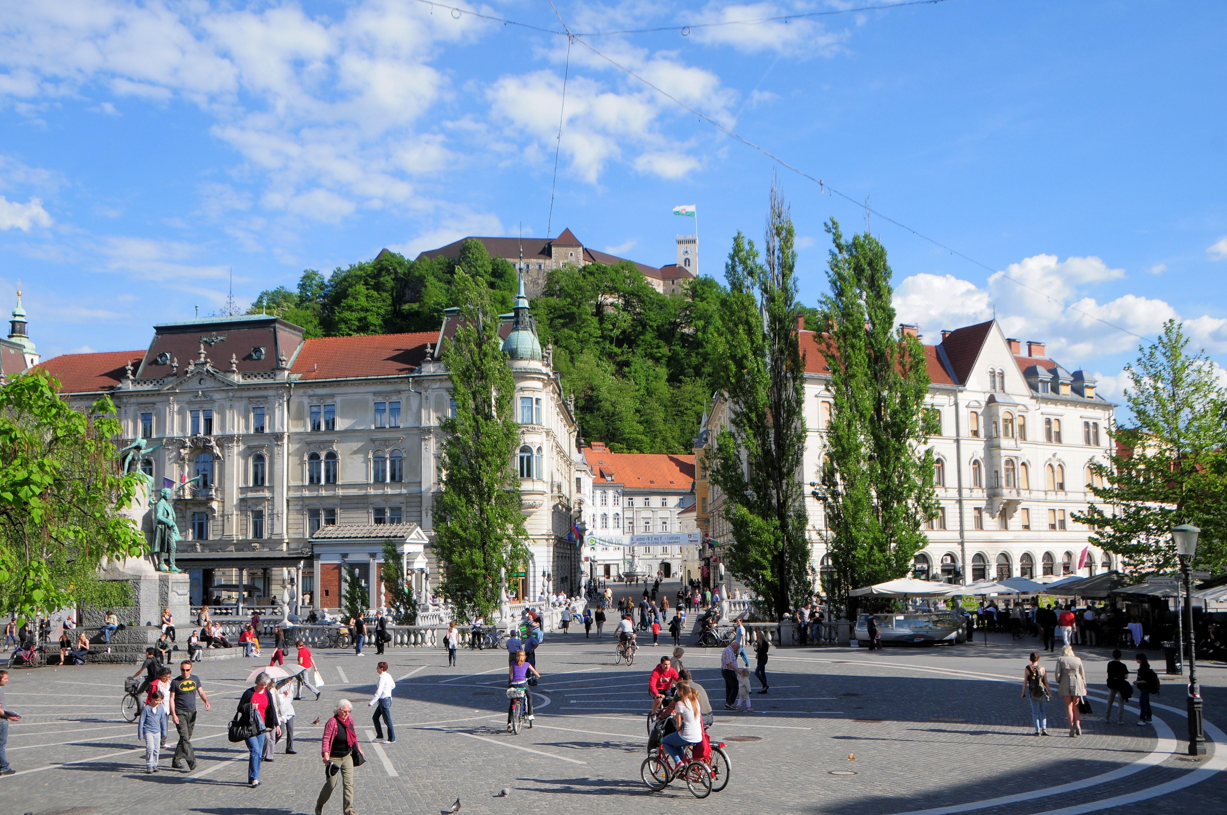 Veduta Presernov in Ljubljana, Slovenia Veduta Presernov in Ljubljana, Slovenia photo by Dunja Wedam