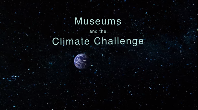 Museums and the Climate Challenge