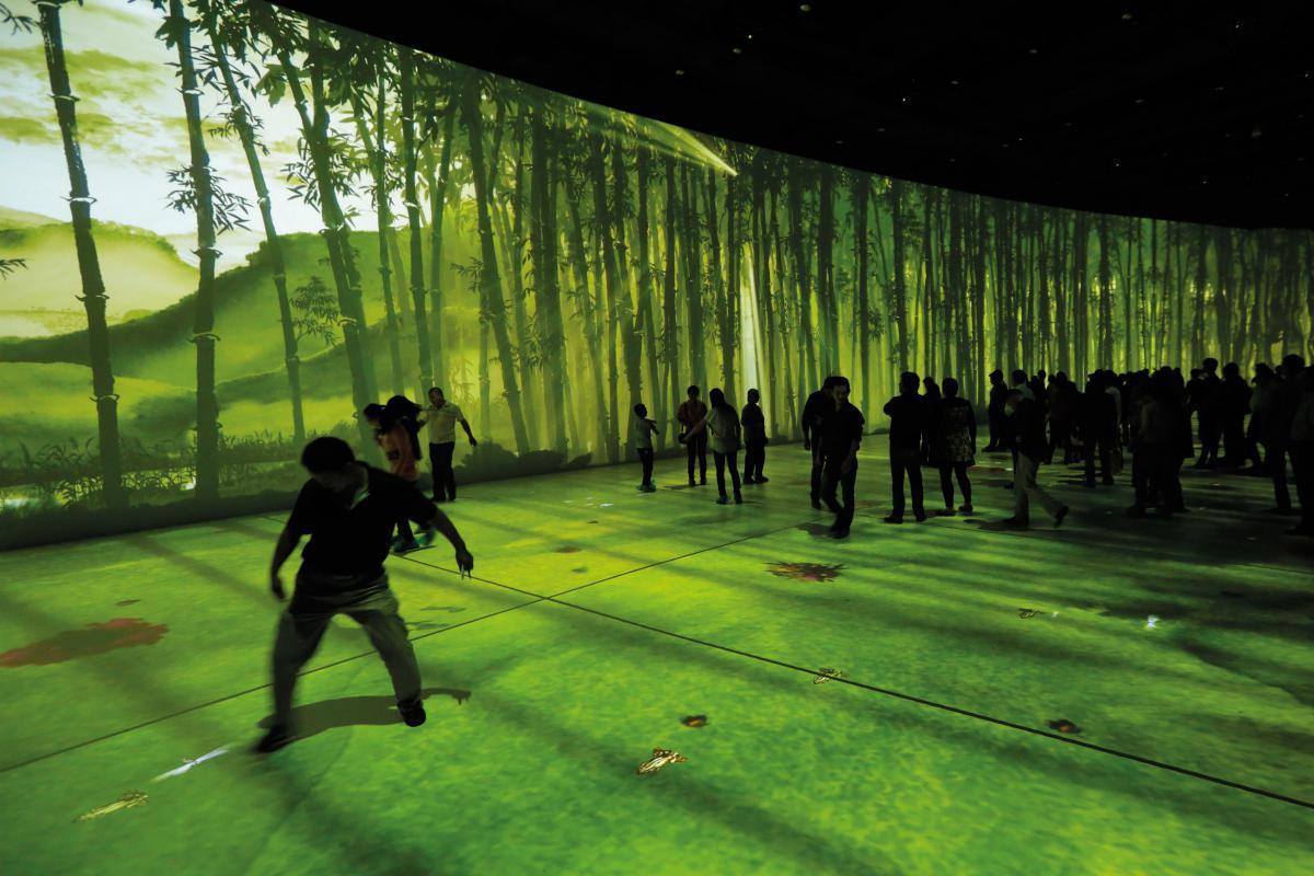 Immersive installation in the Wu Kingdom Helv Relic Museum in Wuxi (China) - by ACCIONA Producciones y Diseño