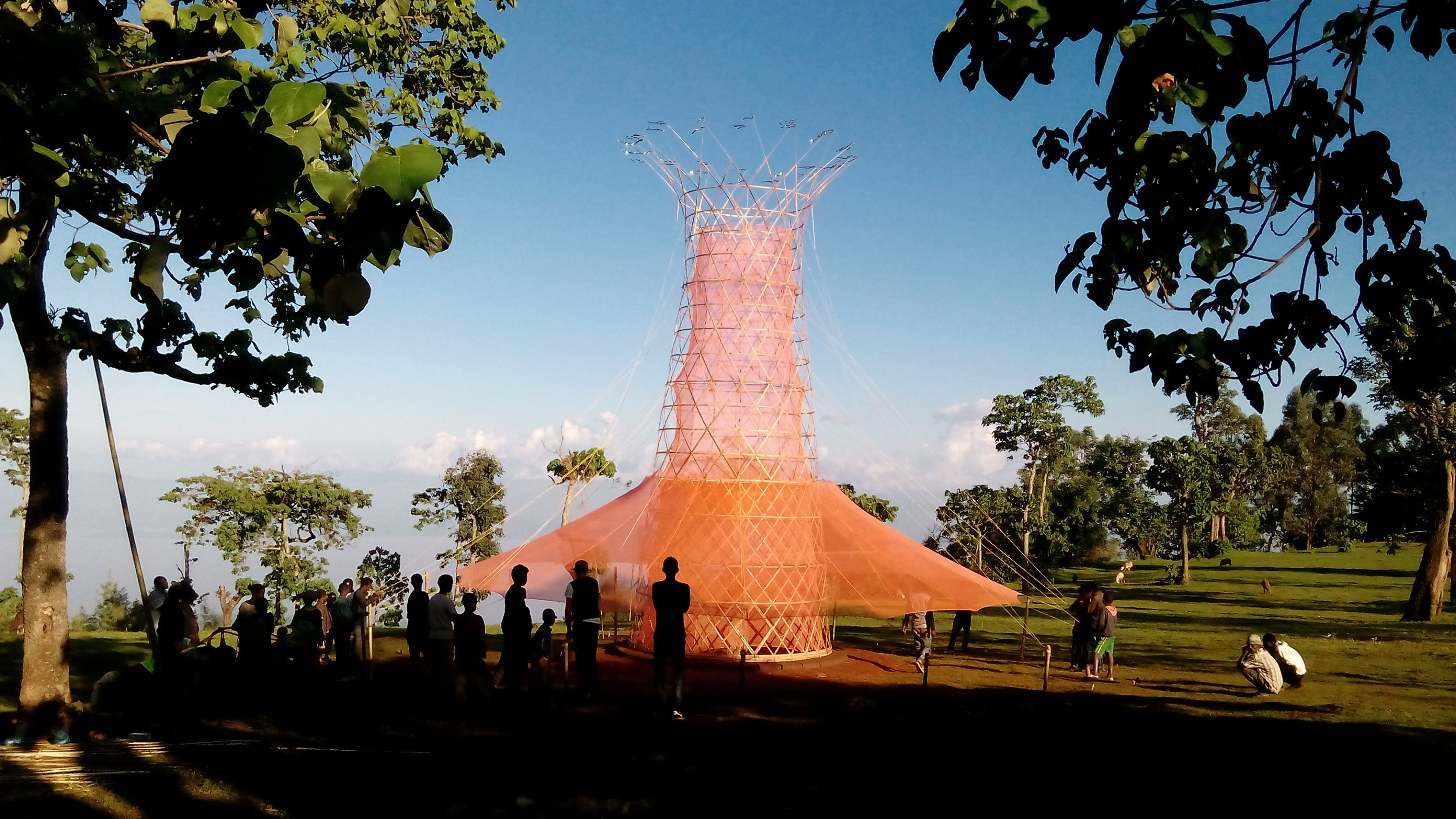 Warka Water (c) Architecture and Vision