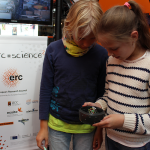 ERC=Science2 action, Lõunakeskus Shopping Centre, Tartu (Estonia)