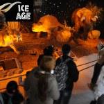 Ice Age animatronic exhibition