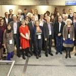 Group photo 2017 Ecsite Directors Forum, Cite des sciences et de l'industrie, Paris, France, 6 October 2017. ® N Breton EPPDCSI