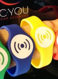 C you personalisation bracelet at Cap Sciences, Bordeaux, France