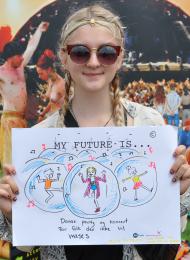RRI in practice: future visions for the Roskilde festival - initiative by Experimentarium