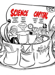 Figure 1. The science capital holdall - a way of visualising the concept of science capital © Enterprising Science