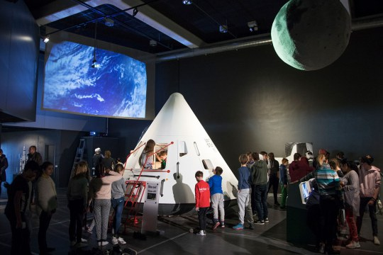 Moon Landing exhibition at the Norwegian Museum of Science and Technology, Oslo, Norway, 2019.