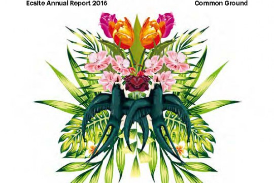 Cover of the 2016 Ecsite Annual Report