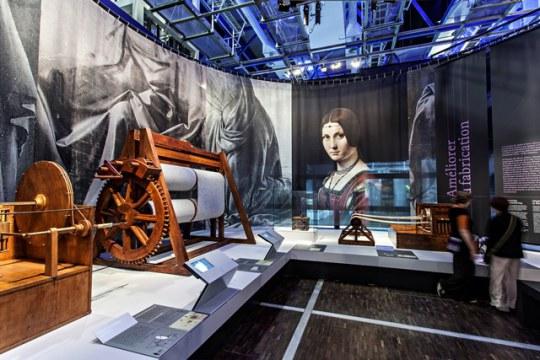 Leonardo - Projects, drawings, machines